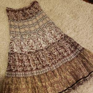 Ravirga Boho Skirt